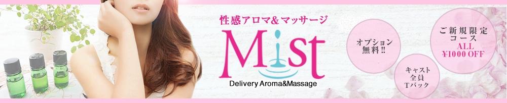 三条メンズエステ性感アロマ&マッサージ Mist(セイカンアロマアンドマッサージミスト)からのお知らせ