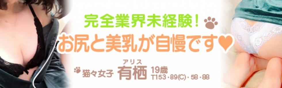 新潟デリヘルMIU MIU(ミウミウ) 有栖・アリス(19)のブログカバー画像