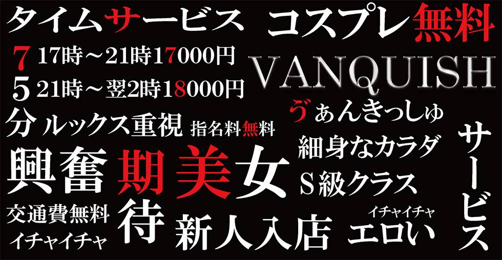 VANQUISH(ヴァンキッシュ) 新潟市/デリヘル