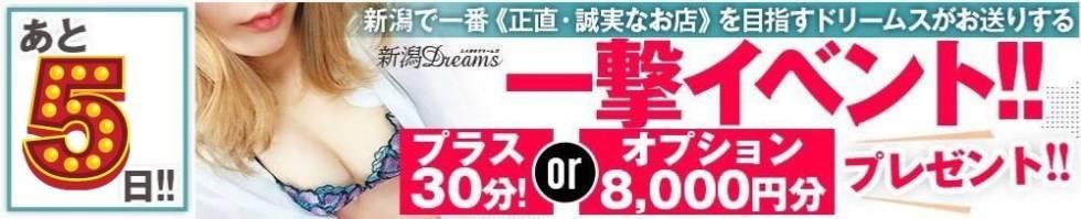 新潟Dreams-ドリームス-(ニイガタドリームス) 新潟市/デリヘル