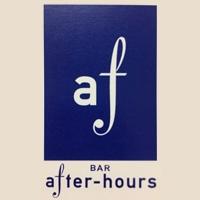 古町居酒屋・バーBAR after-hours(アフターアワーズ)