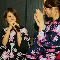 新潟市東区ガールズバー 「浴衣を着て...待ってます♪」2枚目