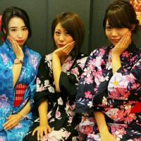 新潟市東区ガールズバー 「浴衣を着て...待ってます♪」7枚目