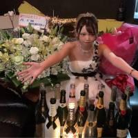 新発田市キャバクラ La.DOUBLE(ラ.ダブル)「ルイさんバースデーイベント」5枚目
