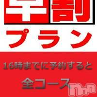 上田デリヘル Apricot Girl(アプリコットガール)の6月11日お店速報「16時までに予約割!」