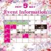 袋町キャバクラ GRANDIR(グランディール)の5月1日お店速報「5月イベント速報」