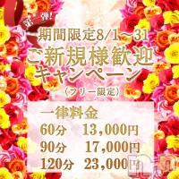 上田デリヘル RIZE(リゼ)の8月8日お店速報「ナイトナビイベント開催中!!新人割も!!」