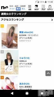 松本デリヘル ELYSION (エリシオン)(エリシオン) 紫音 shion(24)の3月25日写メブログ「おはよう」