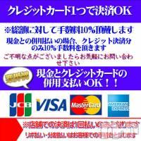 新潟ソープ 不夜城(フヤジョウ)の4月9日お店速報「現金・カード併用払いOK!初来店のお客様は最大5000円OFF」