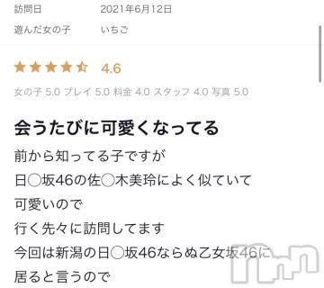 新潟ソープ全力!!乙女坂46(ゼンリョクオトメザカフォーティーシックス) いちご(23)の6月21日写メブログ「クチコミ?」