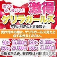松本デリヘル スイートパレスの11月13日お店速報「激得!!ゲリラガールズ開催!!」