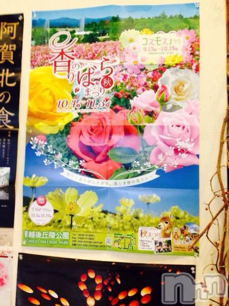 新潟駅前メンズエステoneness(ワンネス) 山野井 つぼみの10月14日写メブログ「バラ園(*^o^*)」