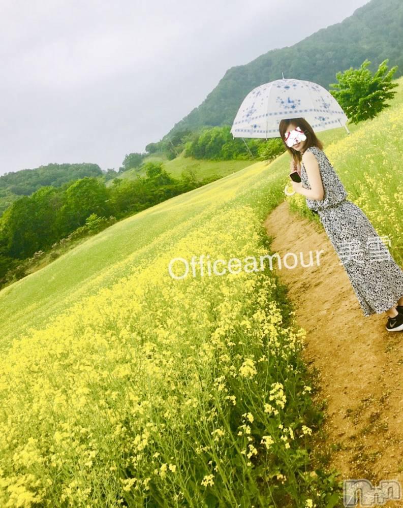 新潟デリヘルOffice Amour(オフィスアムール) 美雪(29)の5月29日写メブログ「゚+♡菜の花畑♡゚+」