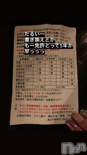 松本駅前キャバクラclub Eight(クラブ エイト) こころの4月9日写メブログ「☆彡.。」