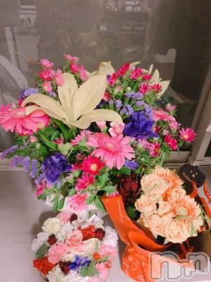 古町スナックsnack NODOKA(スナックノドカ) チーママみのり(25)の10月7日写メブログ「沢山頂いたお花と気持ち」