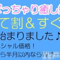 松本ぽっちゃり ぽっちゃり 癒し姫(ポッチャリ イヤシヒメ)の4月7日お店速報「とっておきの癒しをご提供します(/・ω・)/.・★☆」
