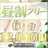 松本デリヘル SECRET SERVICE 松本店(シークレットサービスマツモトテン)の7月5日お店速報「平日昼間限定!昼割60分12000円にてご利用できますよ」
