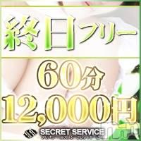 松本デリヘル SECRET SERVICE 松本店(シークレットサービスマツモトテン)の12月27日お店速報「当店最安値!60分フリー12000円でご紹介!!-すぐ案内できますよ-」