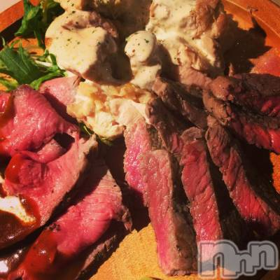 古町居酒屋・バーKITCHEN RYOMA(キッチンリョウマ) あやの3月21日写メブログ「ディナーで肉盛り三種♪」