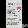 古町ガールズバー chou chou(シュシュ)の6月3日お店速報「今週のシフト♡」