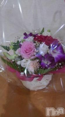 古町ガールズバーカフェ&バー KOKAGE(カフェアンドバーコカゲ) まなの9月12日写メブログ「お誕生日に頂いたお花」