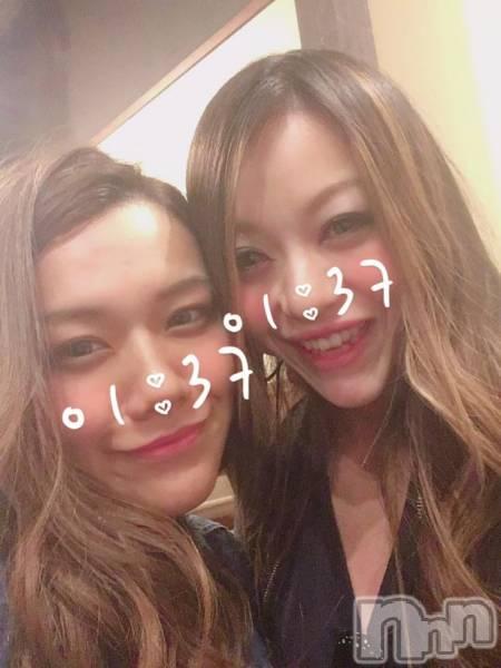 長野ガールズバーCAFE & BAR ハピネス(カフェ アンド バー ハピネス) の2018年4月24日写メブログ「珍しいメンバーいるよん☆*:」