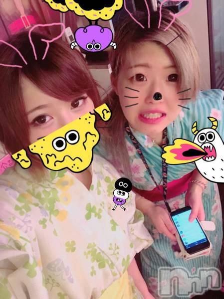 長野ガールズバーCAFE & BAR ハピネス(カフェ アンド バー ハピネス) の2018年7月6日写メブログ「浴衣でわっしょーい卍卍」