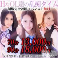 長野デリヘル PRESIDENT(プレジデント)の4月18日お店速報「15時まで限定70分13000円」