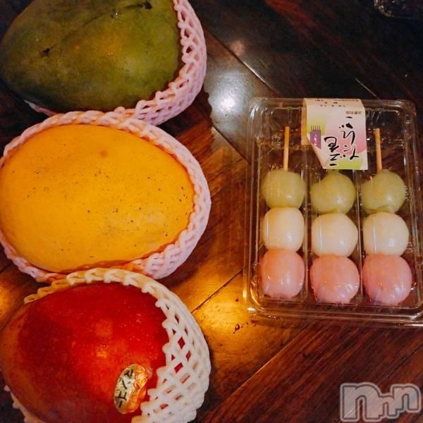 古町ガールズバーchou chou(シュシュ) なぎの8月16日写メブログ「3色マンゴーと3色○○○」