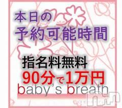 新潟駅前メンズエステ(ベイビーズ ブレス)のお店速報「9/21 本日の最短予約可能時間」
