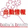 新潟駅前メンズエステ baby's breath(ベイビーズ ブレス)の1月22日お店速報「1月22日(火)出勤情報」