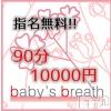 新潟駅前メンズエステ baby's breath(ベイビーズ ブレス)の5月20日お店速報「5月20日(月)出勤情報」