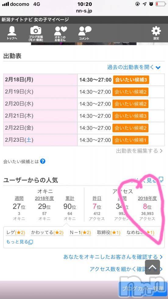 上越デリヘルLoveSelection(ラブセレクション) りん(22)の2月18日写メブログ「わー、嬉し♡♡♡♡」