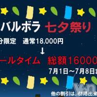 甲府ソープ BARUBORA(バルボラ)の7月1日お店速報「7月1日 09時00分のお店速報」