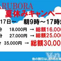 甲府ソープ BARUBORA(バルボラ)の7月14日お店速報「7月14日 09時00分のお店速報」