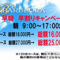 甲府ソープ BARUBORA(バルボラ)の9月5日お店速報「新人情報 イベント開催中」